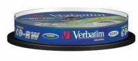 Диск CD-RW Verbatim 700Mb 10x Cake Box 10шт (43480)